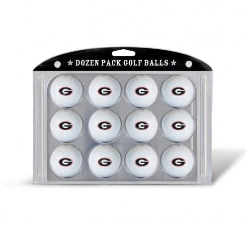 Georgia Bulldogs Dozen Golf Balls
