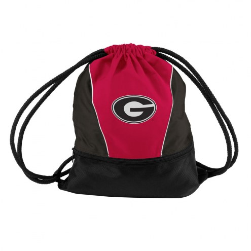 Georgia Bulldogs Drawstring Bag