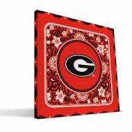 Georgia Bulldogs Eclectic Canvas Print