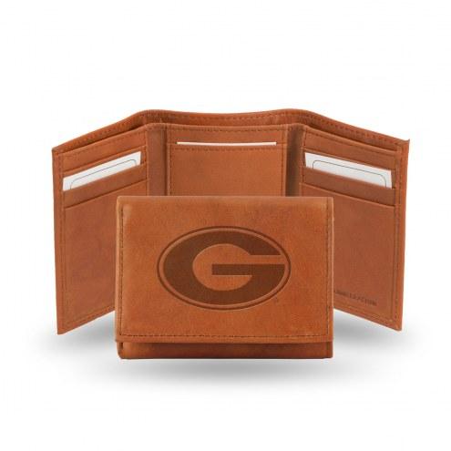 Georgia Bulldogs Embossed Tri-Fold Wallet