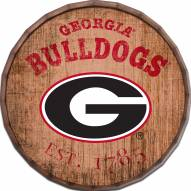 "Georgia Bulldogs Established Date 16"" Barrel Top"