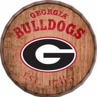 "Georgia Bulldogs Established Date 24"" Barrel Top"