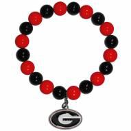 Georgia Bulldogs Fan Bead Bracelet