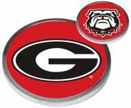 Georgia Bulldogs Flip Coin