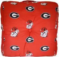 Georgia Bulldogs Floor Pillow