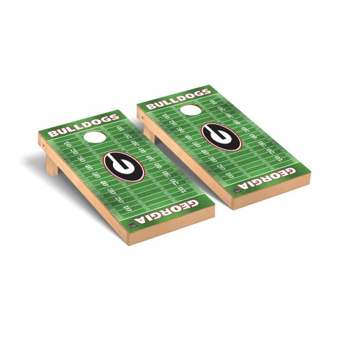 Georgia Bulldogs Football Field Cornhole Game Set