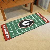 Georgia Bulldogs Football Field Runner Rug