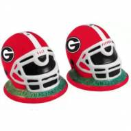 Georgia Bulldogs Football Helmet Salt and Pepper Shakers