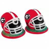 Georgia Bulldogs Football Helmet Salt and Pepper Shakers
