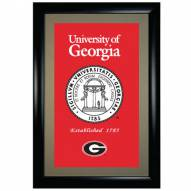 Georgia Bulldogs Framed Art