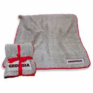 Georgia Bulldogs Frosty Fleece Blanket