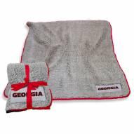 Georgia Bulldogs Frosty Fleece Blanket
