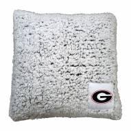 Georgia Bulldogs Frosty Throw Pillow