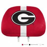 Georgia Bulldogs Full Print Headrest Covers