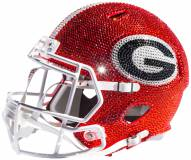 Georgia Bulldogs Full Size Swarovski Crystal Football Helmet