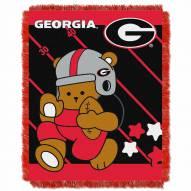 Georgia Bulldogs Fullback Baby Blanket