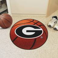 "Georgia Bulldogs ""G"" Basketball Mat"