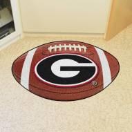 """Georgia Bulldogs """"G"""" Football Floor Mat"""