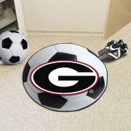 "Georgia Bulldogs ""G"" Soccer Ball Mat"