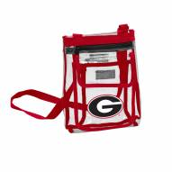 Georgia Bulldogs Gameday Clear Crossbody Tote