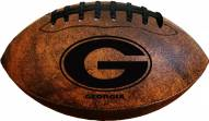 Georgia Bulldogs Vintage Throwback Football