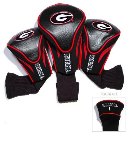 Georgia Bulldogs Golf Headcovers - 3 Pack