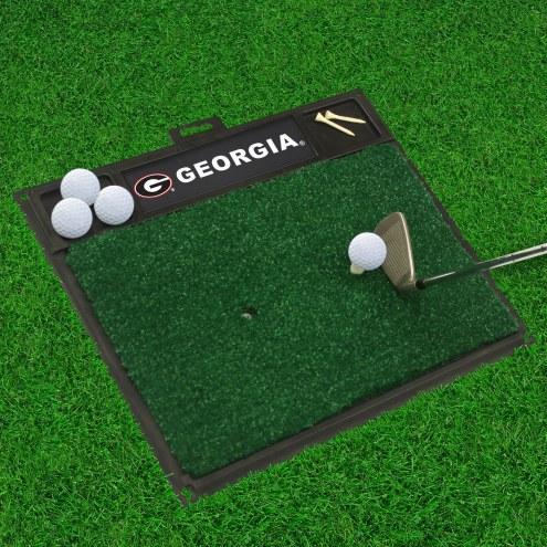 Georgia Bulldogs Golf Hitting Mat