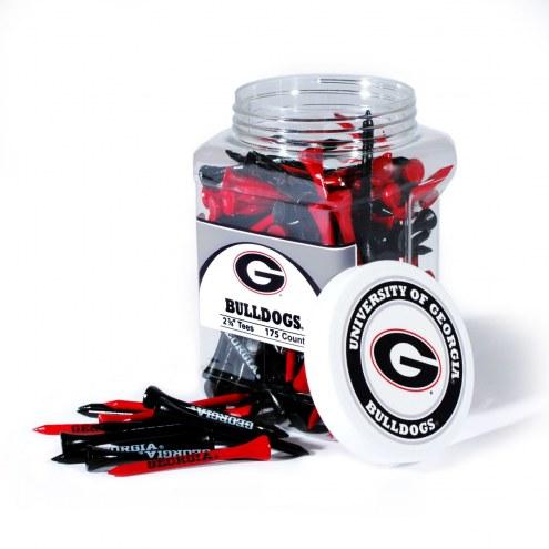 Georgia Bulldogs 175 Golf Tee Jar