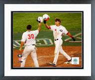 Georgia Bulldogs Gordon Beckham 2008 Action Framed Photo
