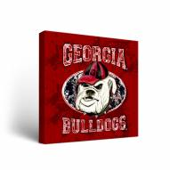 Georgia Bulldogs Guy Harvey Canvas Wall Art