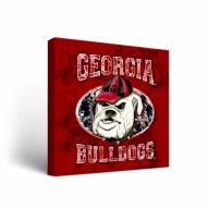 Georgia Bulldogs Guy Harvey Canvas Wall Art