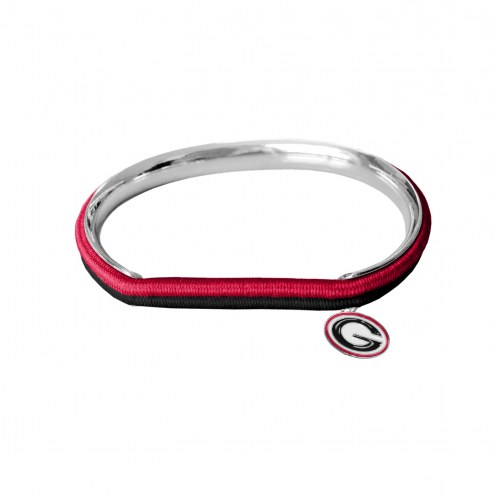 Georgia Bulldogs Hair Tie Bangle