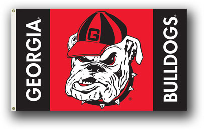 Georgia Bulldogs Head Premium 3' x 5' Flag