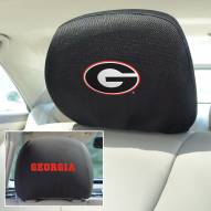Georgia Bulldogs Headrest Covers