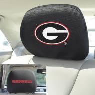 Georgia Bulldogs Headrest Covers