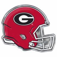 Georgia Bulldogs Helmet Car Emblem