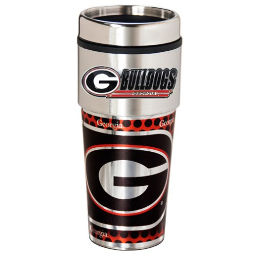 Georgia Bulldogs Hi-Def Travel Tumbler