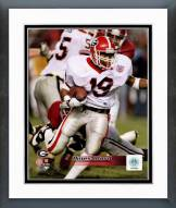 Georgia Bulldogs Hines Ward Action Framed Photo