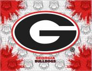 Georgia Bulldogs Logo Canvas Print