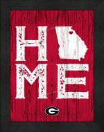 Georgia Bulldogs Home Away From Home Wall Decor
