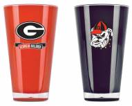 Georgia Bulldogs Home & Away Tumbler Set