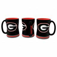 Georgia Bulldogs Relief Coffee Mug