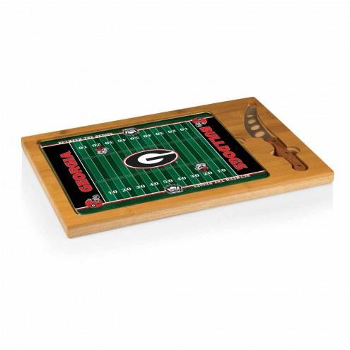 Georgia Bulldogs Icon Cutting Board