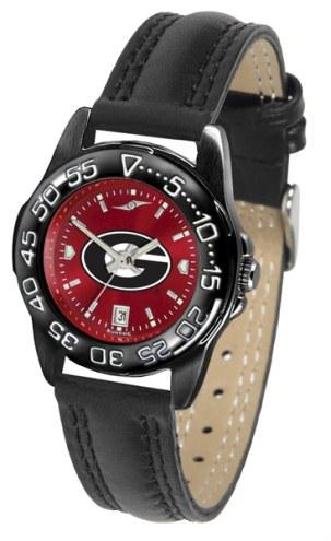 Georgia Bulldogs Ladies Fantom Bandit AnoChrome Watch