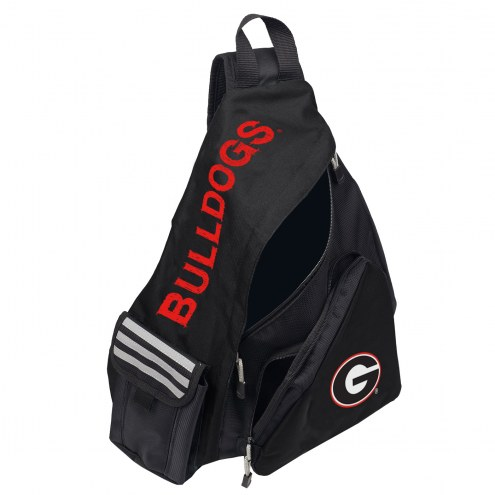 Georgia Bulldogs Leadoff Sling Backpack