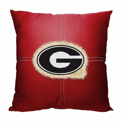 Georgia Bulldogs Letterman Pillow