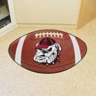 Georgia Bulldogs Logo Football Floor Mat