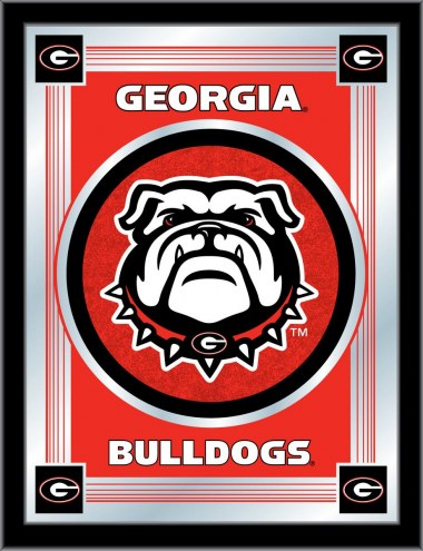 Georgia Bulldogs Logo Mirror