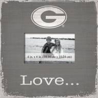 Georgia Bulldogs Love Picture Frame