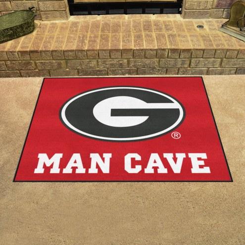 Georgia Bulldogs Man Cave All-Star Rug
